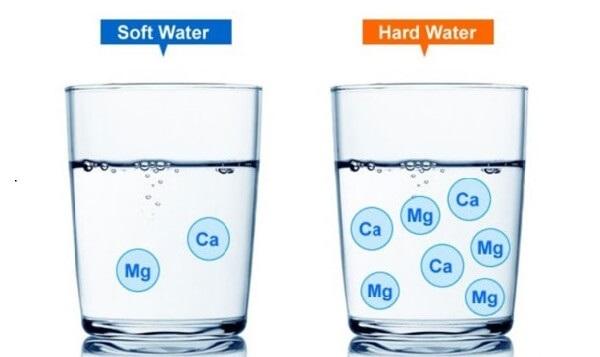 Độ cứng trong nước là hàm lượng của cation Canxi và Magie có trong một lít nước