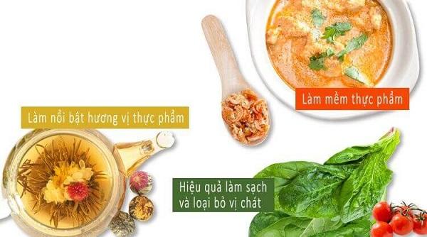 Bảo toàn các chất dinh dưỡng có trong thức ăn
