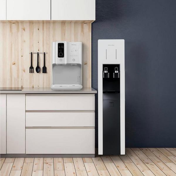 Máy lọc nước Coway nóng lạnh CHP - 590R thiết kế siêu mỏng, hiện đại, nâng tầm không gian sử dụng, thích hợp cho cả văn phòng và gia đình