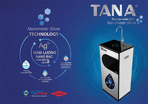 Máy lọc nước RO Tân Á Nanometer Silver 9 lõi