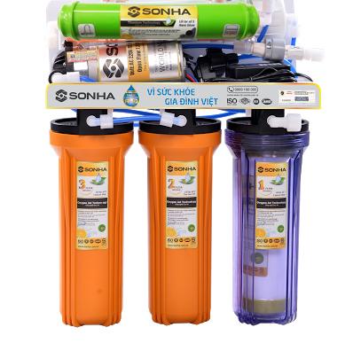 Máy lọc nước Sơn Hà cao cấp SHRO 005 có thể lọc 8 - 10L/ giờ