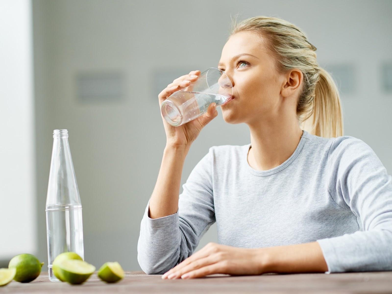 Nên sử dụng nước khoáng có liều lượng phù hợp