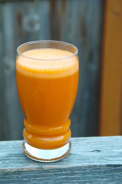 Nước ép từ carrot đem lại nhiều hiệu quả cho sức khỏe