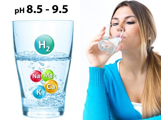 Nước khoáng ion life có độ PH lý tưởng 8.5-9.5