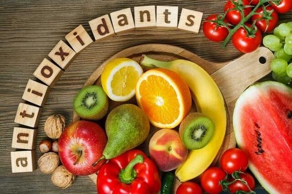 Rau củ quả là nguồn bổ sung Antioxidant tốt nhất