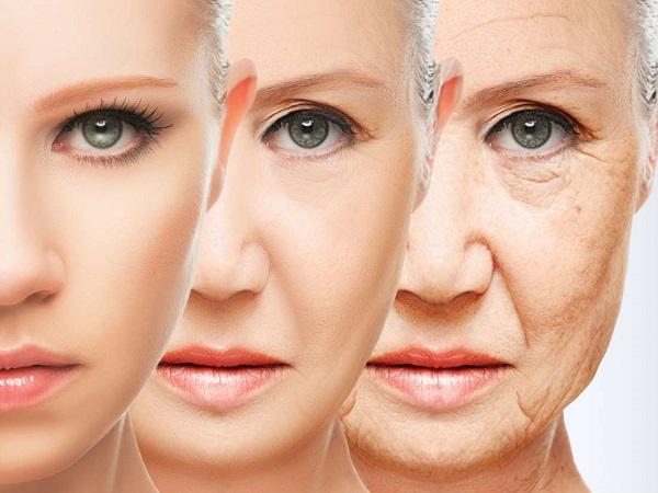Đối mặt với lão hóa, làn da sẽ không còn căng mịn và sáng mà dần chuyển thành lỏng lẻo, chảy xệ