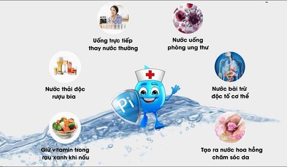 Nước khoáng kiềm có những lợi ích đáng ngạc nhiên cho người dùng