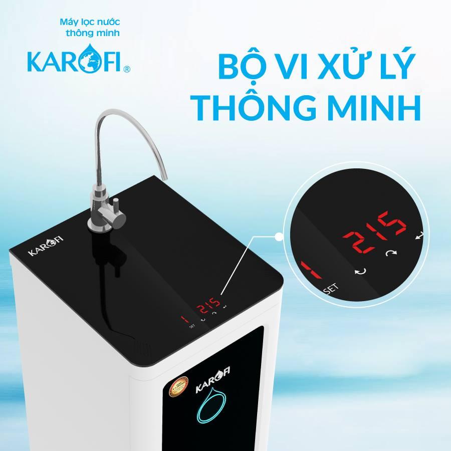 Máy lọc nước karofi có bộ vi xử lý thông minh
