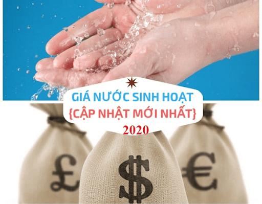 Cập nhật nhanh giá nước sinh hoạt 2020 mới nhất để bạn đọc nắm bắt