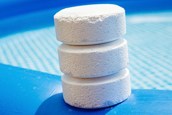 Cloramin b sản xuất ở dạng viên hay dạng bột (hình dạng viên)