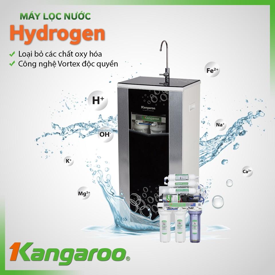 Máy lọc nước hãng Kangaroo Hydrogen Plus KG100HP áp dụng công nghệ lọc hiện đại