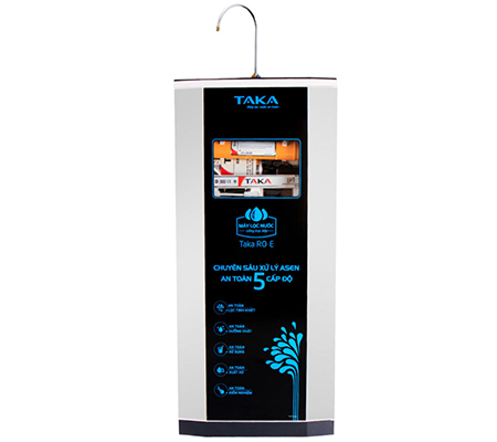 Máy lọc nước Taka RO E giúp tiết kiệm nước hiệu quả trong quá trình sử dụng
