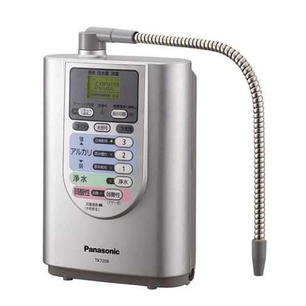 Máy lọc nước ion kiềm Panasonic TK7208 với công nghệ điện phân 2 cực tạo nguồn nước giàu khoáng chất