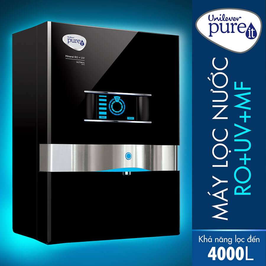 Máy lọc nước pureit Ultima RO+UV+MF sang trọng, hiện đại