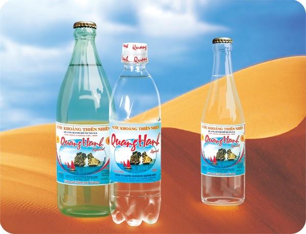 Nước khoáng thiên nhiên Quang Hanh