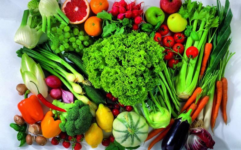 Rau xanh là thực phẩm có chứa ít acid uric
