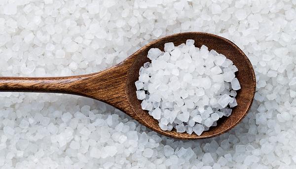 Sử dụng muối biển để có kết quả tốt nhất