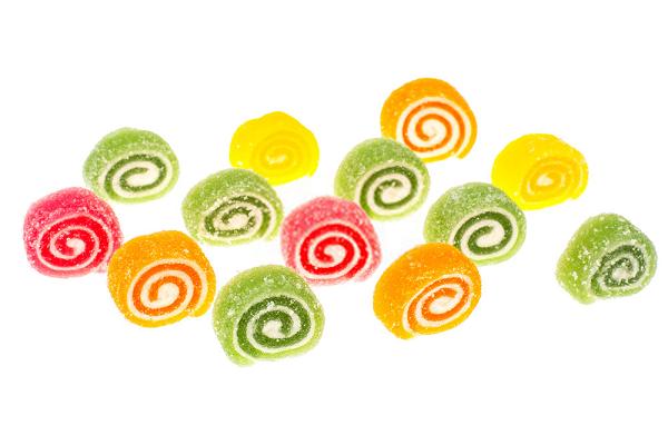Kẹo ngọt cũng có chất tạo ngọt và gần như là chất phụ gia chính