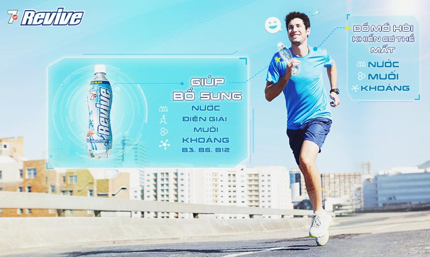 Revive nước uống phù hợp với những đối tượng thường xuyên luyện tập thể dục thể thao