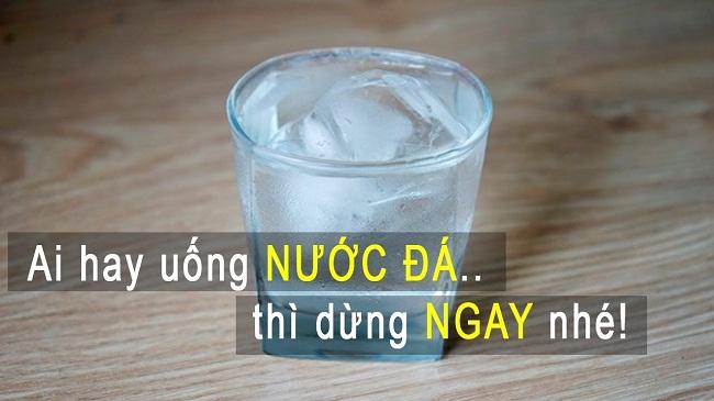 Uống nước lạnh không tốt cho cơ thể
