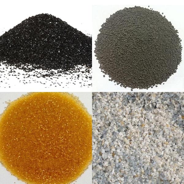 Các loại vật liệu được sử dụng phổ biến để lọc nước hiện nay