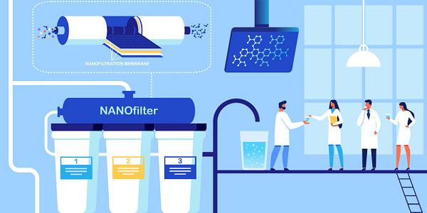 Công nghệ lọc nước nano được sử dụng rộng rãi