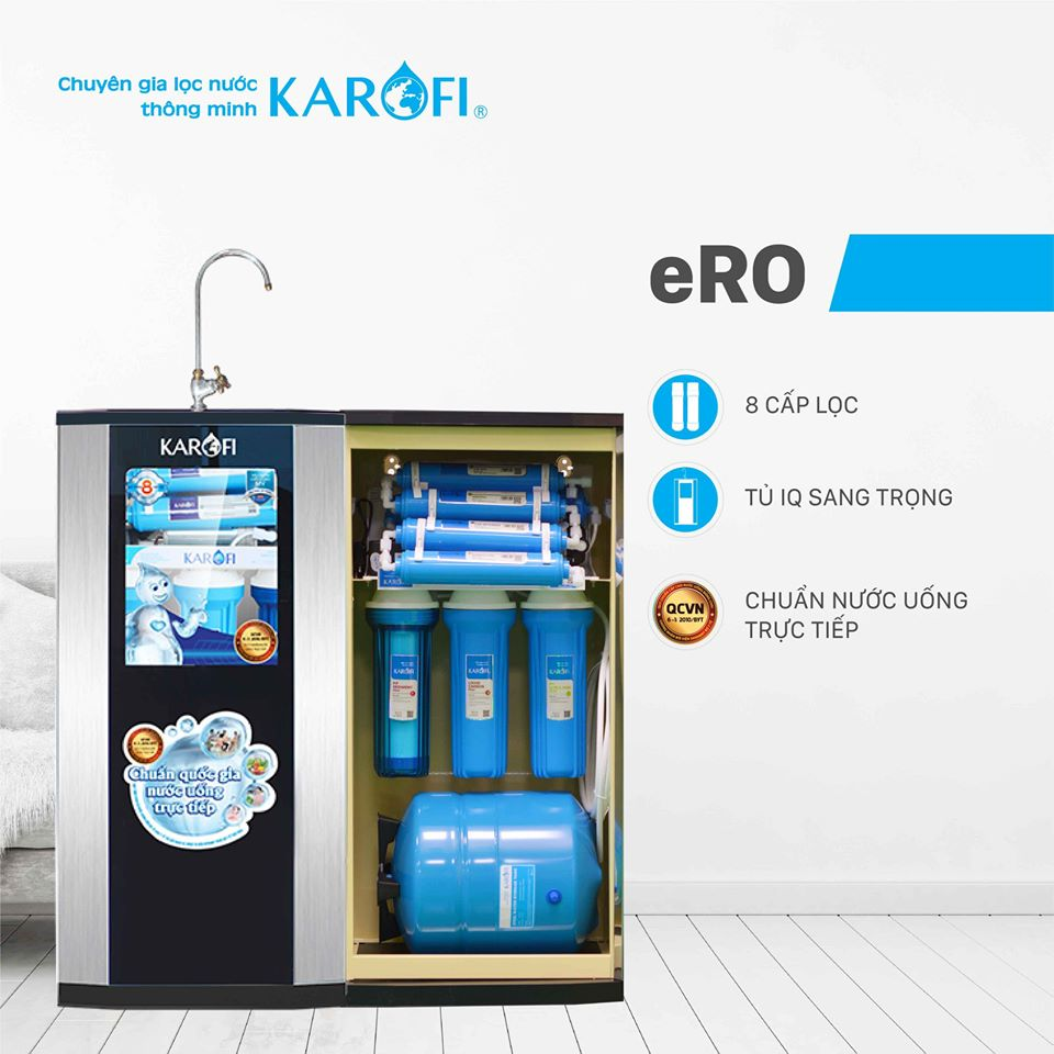 Máy lọc nước Karofi có tốt không là câu hỏi nhiều người băn khoăn