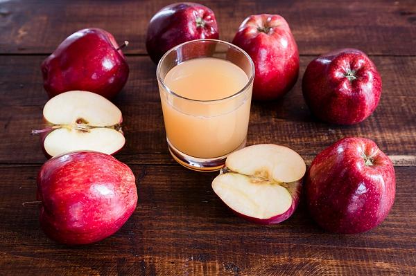 Nước táo giải độc gan hiệu quả và tăng cường chức năng gan