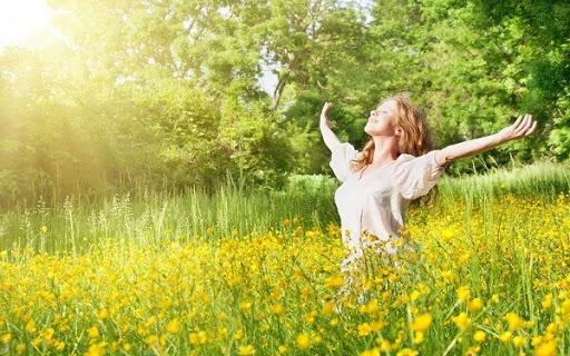 Ánh nắng tự nhiên có nhiều vitamin D cho cần thiết cho cơ thể bạn