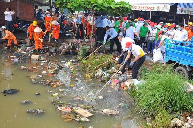 Thực trạng ô nhiễm nước tại Hà Nội