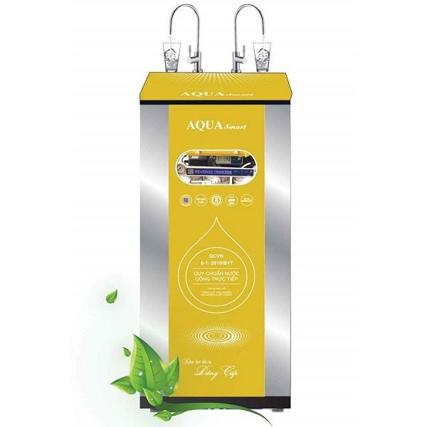 Hình ảnh mẫu sản phẩm máy lọc nước Aqua Smart màu vàng